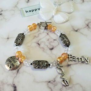 Love family bracelet... God gave me you...